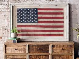 Pin By Officezilla On Patriotic Crafts Decor Home Framed