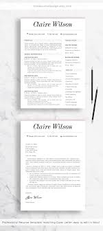 Stand Out Resume Templates Extraordinary Stand Out From The Crowd With This Resume Template Simple Elegant