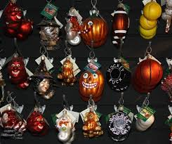 Old World Christmas ornaments are made of fine blown glass and come in many  different themes.