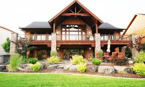 new donald gardner bungalow house plans walkout basement houselans canada small mountain with lake floor