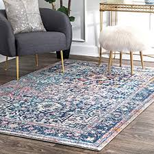nuloom persian vintage raylene rug 5 x 7 5