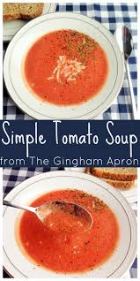 Simple Tomato Soup Trim Healthy Mamas Just Like Campbells Tomato Soup