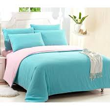 solid color bed quilt luxury satin spring color bed bedding sets
