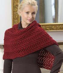 Knitted Shawl Patterns Delectable Easy Lace Shawl Knitting Pattern FaveCrafts