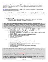Joint Venture Contract Template
