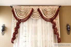 cheap fancy living room curtains