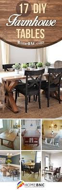 diy farmhouse dining room table. 17 Rustic DIY Farmhouse Table Ideas To Add The Perfect Accent Your Home Diy Dining Room R
