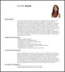 Corriculo Exemplo Exemplo Curriculum Vitae Contabilista Livecareer