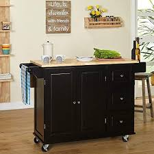 Kitchen islands with breakfast bar Luxury Kitchen Islands On Wheels Drop Leaf Utility Cart Mobile Breakfast Bar With Storage Drawers Towel And Amazoncom Kitchen Islands With Breakfast Bar Amazoncom