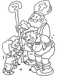 Kleurplaat Sinterklaas Pieten Zwarte Pieten In Het Circus