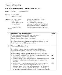 Meeting Of Minutes Format School Meeting Minutes Templates Doc Free Premium Template Sample