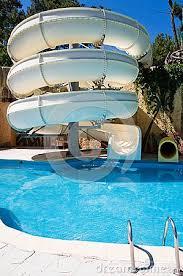 Backyard pool with slides Residential Water Slides For Backyard Pools Swimming Pool With Water Slide Something For The Backyard Oamoz Pools Water Slides For Backyard Pools Swimming Pool With Water Slide
