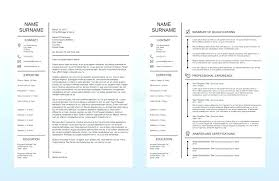 Resume Portfolio Cover Page Template Single One Sample For Freshers ...