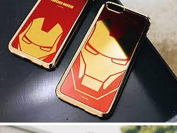 mirror iphone 7 plus case. marvel iron man mirror art back case for iphone 7 plus iphone