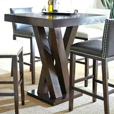high pub table set bistro pub set high bistro table medium size of chair silver square