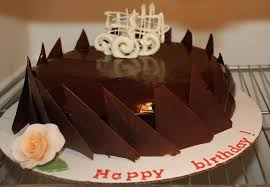 chocolate cake decorating designs
