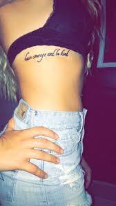 Rib Tattoos Quotes Enchanting 48 Delightful Rib Cage Tattoo Ideas Quote Tattoos Pinterest