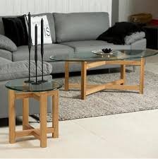 coffee table set and side table glass kinds