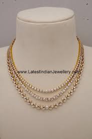 diamond necklaces indian designer gold and diamond jewellery latestindianjewel jpg