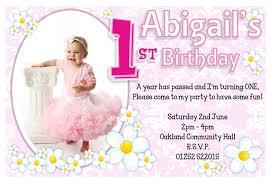 1st Birthday Party Invitation Template Editable 1st Birthday Invitation Template Freeinvitation