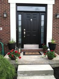 what color to paint front door 2Stylish Black Front Doors  Change Your Houses Curb Appeal