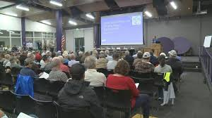 kkco kjct it was standing room only tuesday night at basalt high school where community members and residents came to discuss the future of their