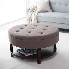 simpli home owen coffee table ottoman with storage distressed black ltd axcot267s dbl