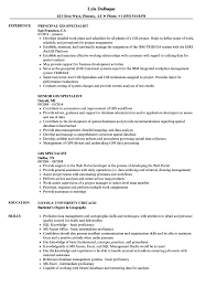 Resume Specialists Gis Specialist Resume Magdalene Project Org
