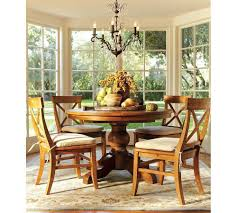 clic dining room with pottery barn persian malika area rug and
