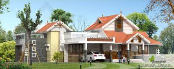 Small Picture Traditional Single Floor Kerala House Elevation at 1900 sqft