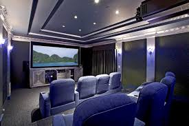 home theater art. inspiration for an eclectic home theater remodel in santa barbara with a projector screen art t