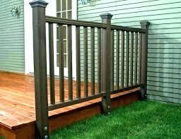 how to build porch railing deck railings baers baroque baers 3 black build deck railing build