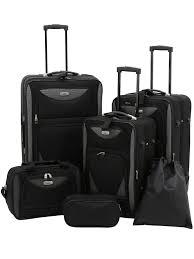 Travelers Club - <b>Skyview</b> 6-Piece 2-Tone Luggage Set - Walmart.com