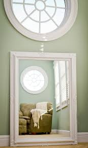 Large Bedroom Mirror Large White Mirror For Sale 44x32 Vintage Inspired