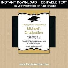 printable graduation cards free online printable graduation invitations ceremony and party invite printable