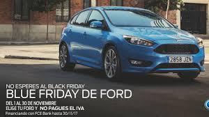 El Black Friday se vuelve azul con Ford