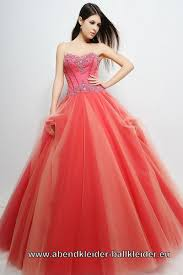 Orange Rotes Abendkleid Ballkleid Farbiges Brautkleid Online ...