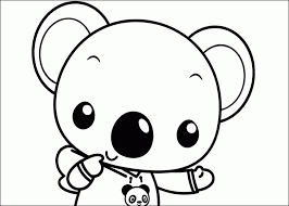 Small Picture Printable 37 Cute Baby Animal Coloring Pages 3580 Cute Baby