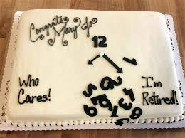 Retirement Cakes Akshayreddy