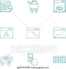 Dropbox Chart Vector Stock Cart Dropbox Windows Ui Layout Web User