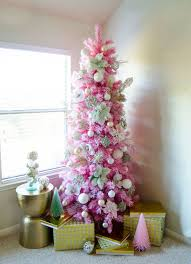 Angel Pink Flocked Christmas Tree | Treetopia