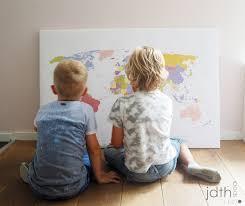 Een Wereldkaart Voor Pim Judithspaainl