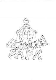 Festa Del Papà Disegni Gratis Da Colorare 4 Feste Per Bambini