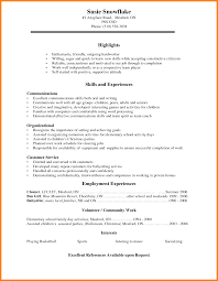 6 Job Resume For School Students Edu Techation