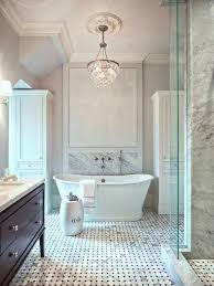 Fancy Bath Lighting Inspiration And Tips For Hanging A Chandelier Over The  Bathtub Pinterest