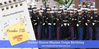 United States Marine Officer United States Marine Corps Birthday November 10 National