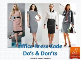 Office Dress Code Dos And Donts