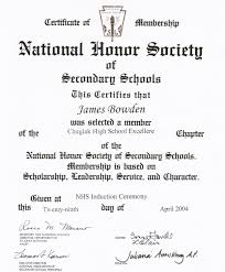 National Honor Society Resume Resume For Your Job Application