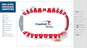 Capitals Interactive Seating Chart About Capital One Arena Washington Capitals