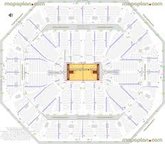 Oracle Arena Seating Chart Seating Chart